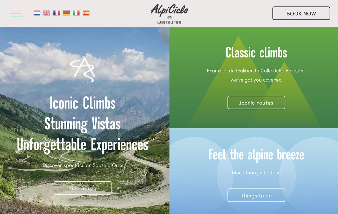 alpicoclo web design