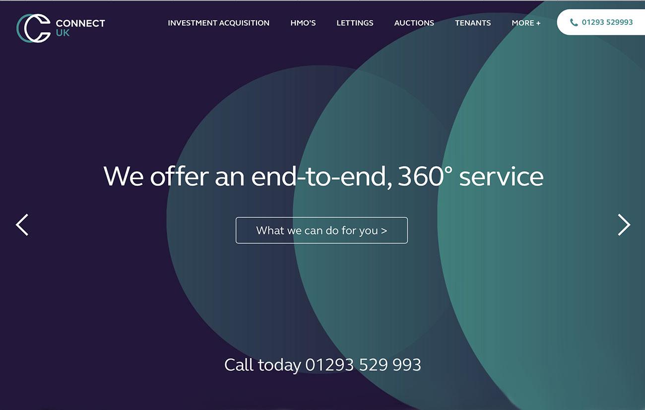 connect web design