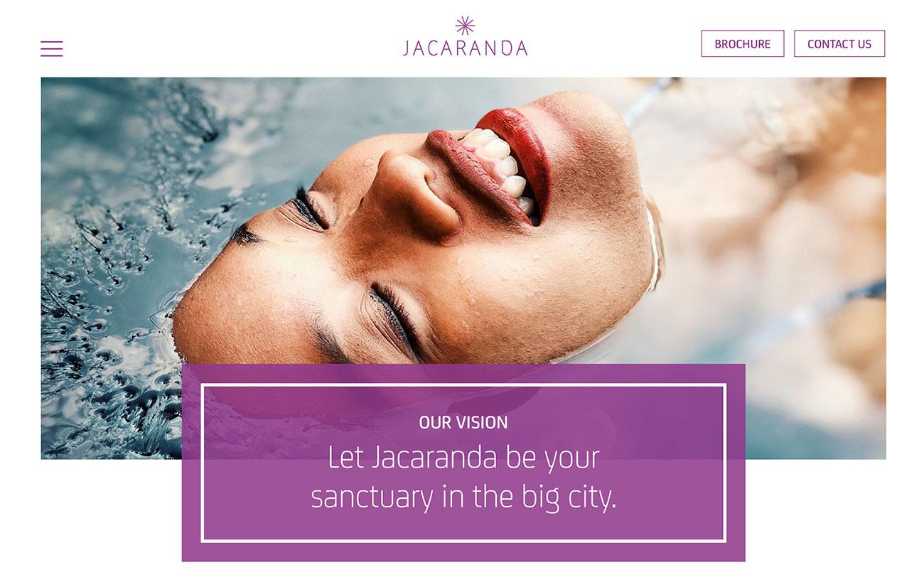 jacaranda web design